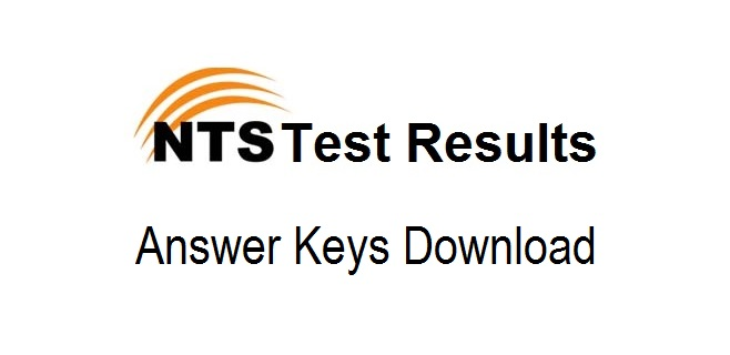 NTS Answer key Download 2018