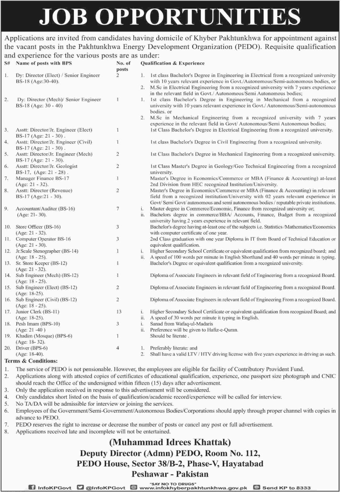 Pakhtunkhwa Energy Development Organization