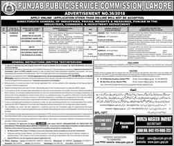 Punjab Public Service PPSC Jobs 2018 Apply online