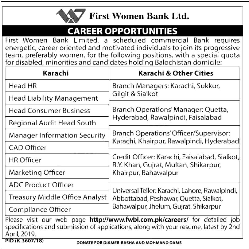 bank job online application 2019